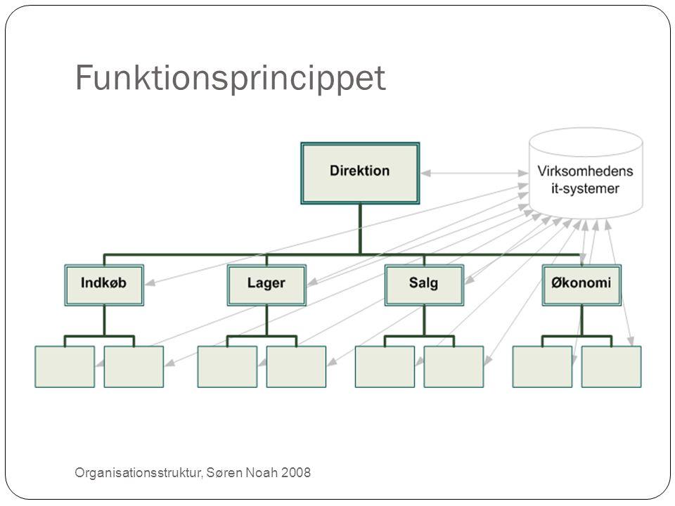Funktionsprincippet 7 Organisationsstruktur, Søren Noah 2008