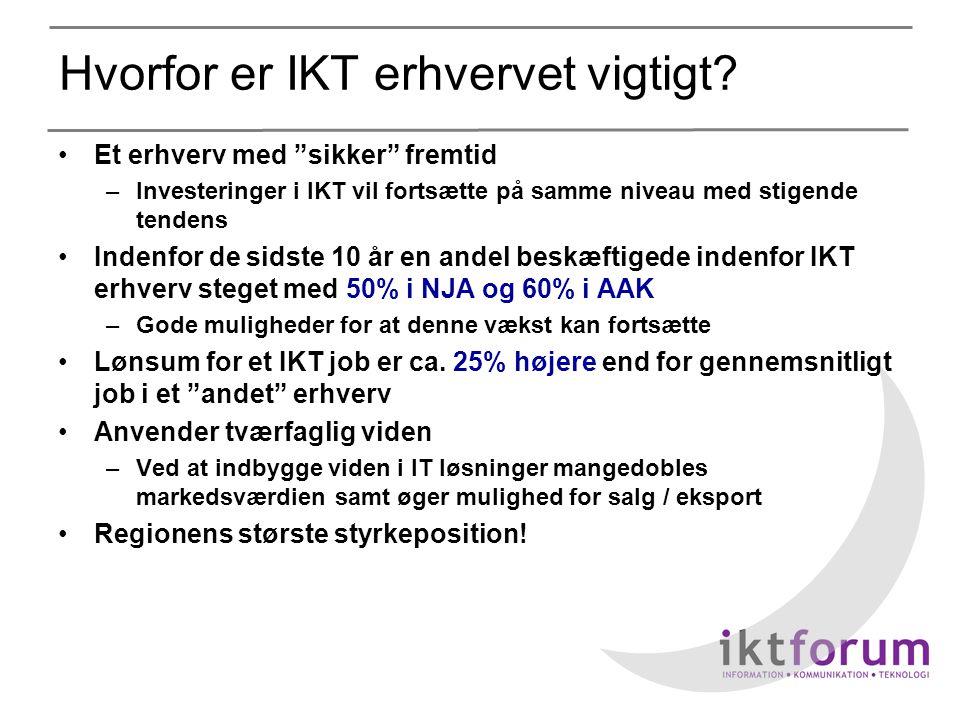 Hvorfor er IKT erhvervet vigtigt.