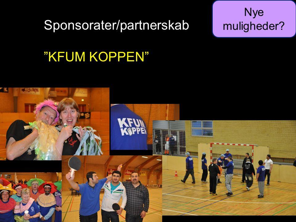 Sponsorater/partnerskab KFUM KOPPEN Nye muligheder