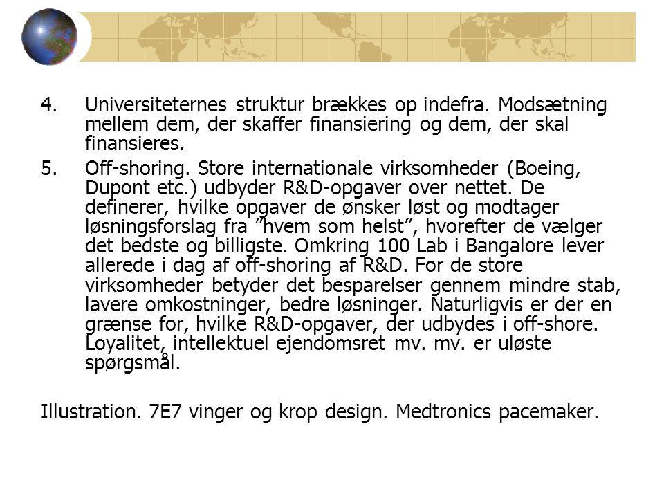 4.Universiteternes struktur brækkes op indefra.