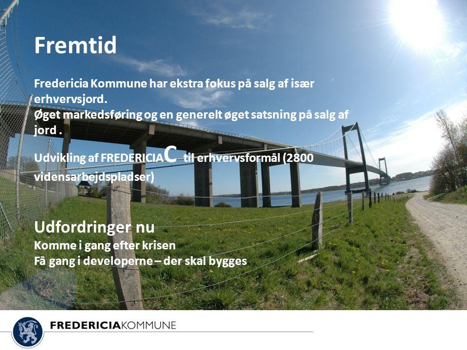 Fremtid Fredericia Kommune har ekstra fokus på salg af især erhvervsjord.