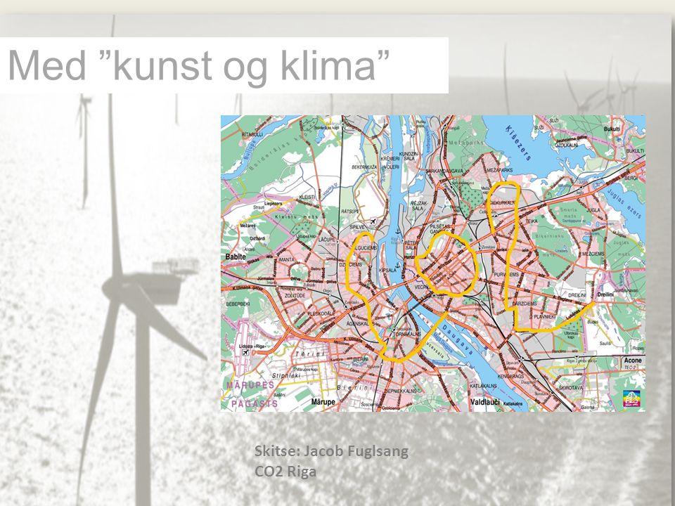 Med kunst og klima Skitse: Jacob Fuglsang CO2 Riga