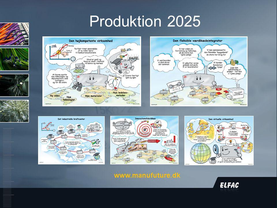 DS/EN ISO9001:2008 Produktion 2025 www.manufuture.dk