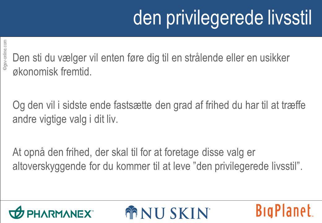 ©gsv-online.com den privilegerede livsstil Den sti du vælger vil enten føre dig til en strålende eller en usikker økonomisk fremtid.