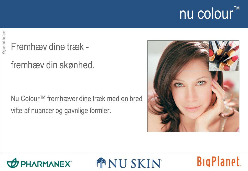 ©gsv-online.com nu colour ™ Fremhæv dine træk - fremhæv din skønhed.
