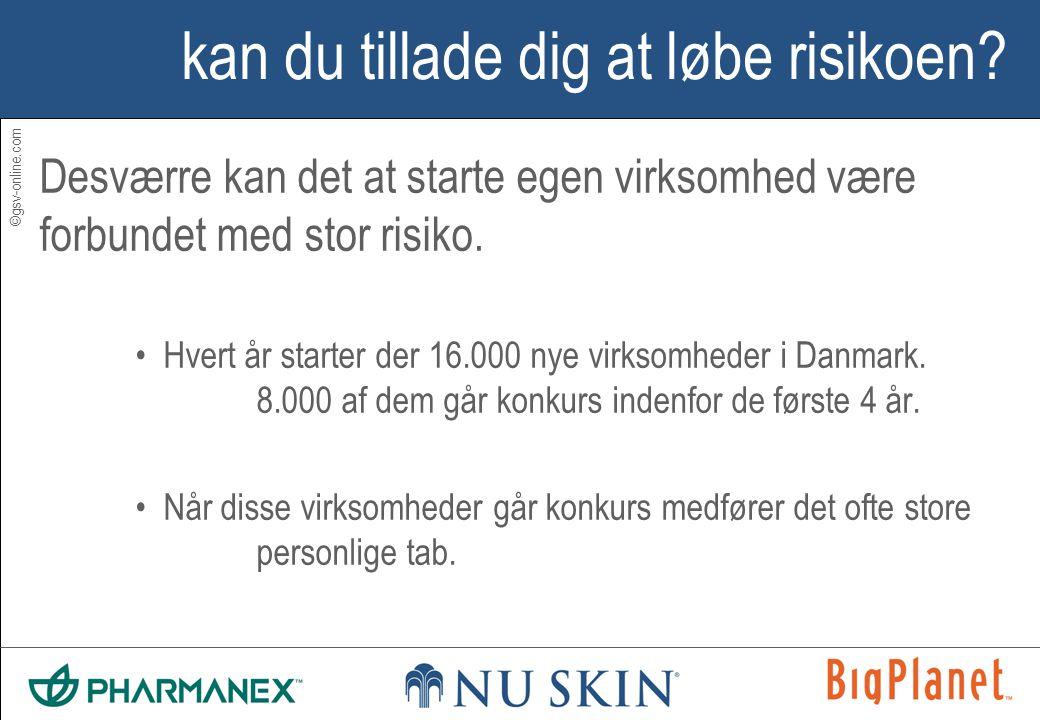 ©gsv-online.com kan du tillade dig at løbe risikoen.