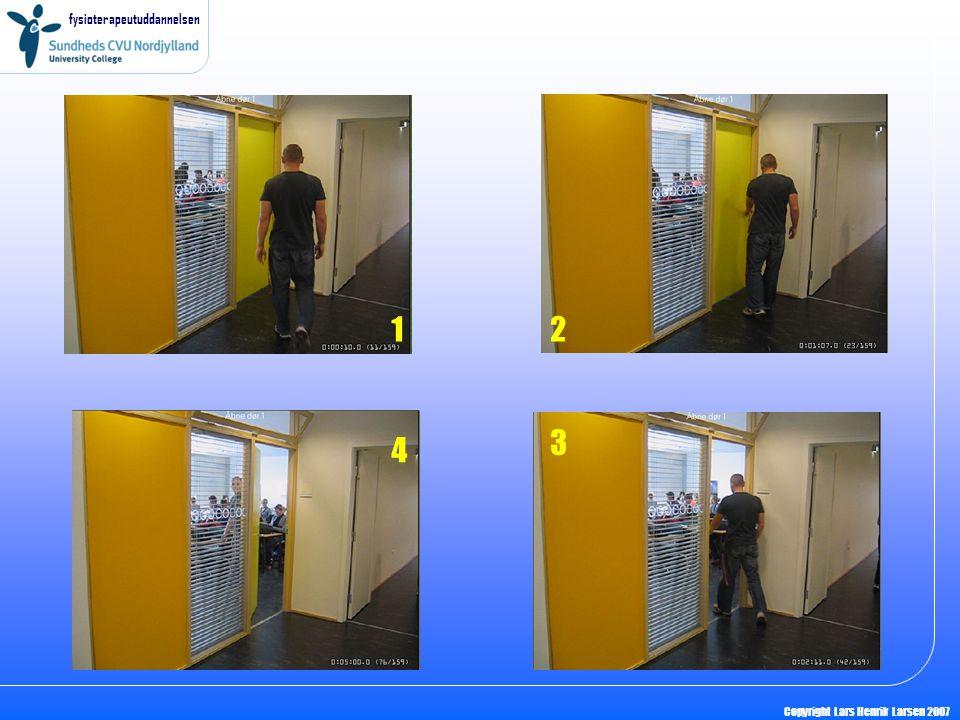 fysioterapeutuddannelsen Copyright Lars Henrik Larsen 2007 12 3 4