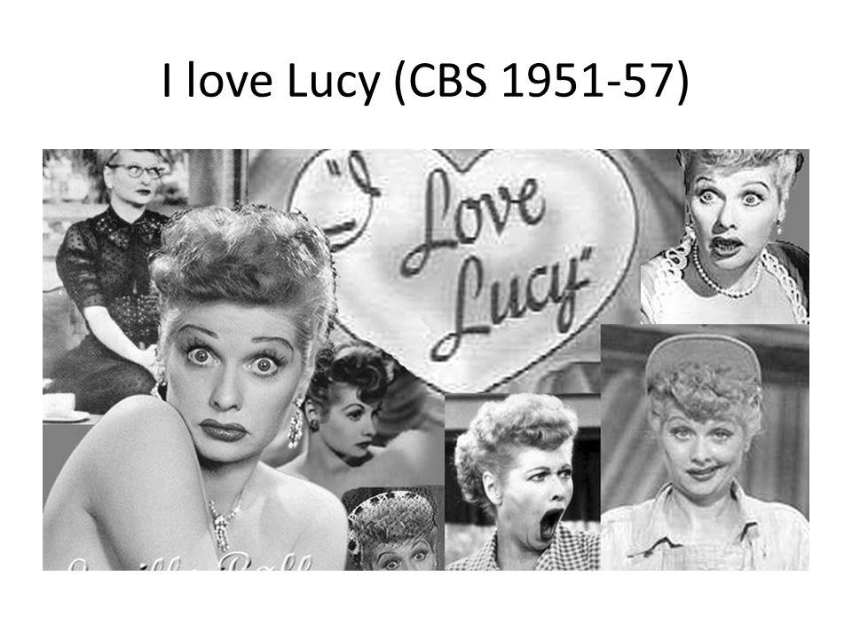 I love Lucy (CBS 1951-57)