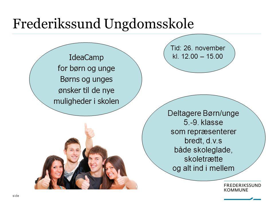 Deltagere Børn/unge 5.-9.