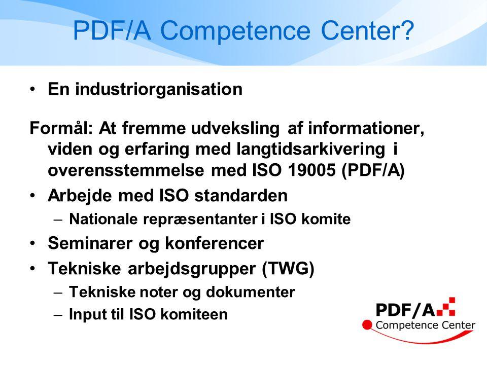 PDF/A Competence Center.