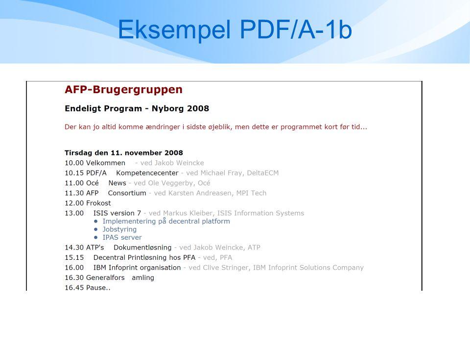 Eksempel PDF/A-1b