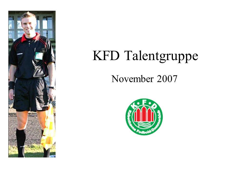 KFD Talentgruppe November 2007