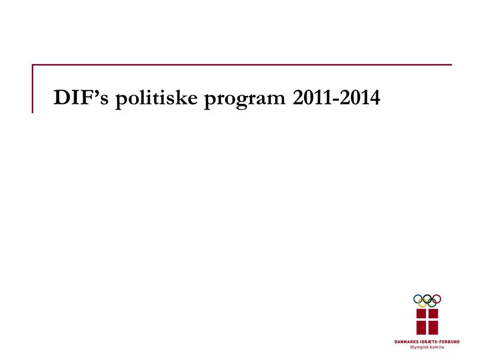 DIF's politiske program 2011-2014