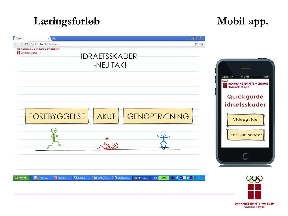 LæringsforløbMobil app.