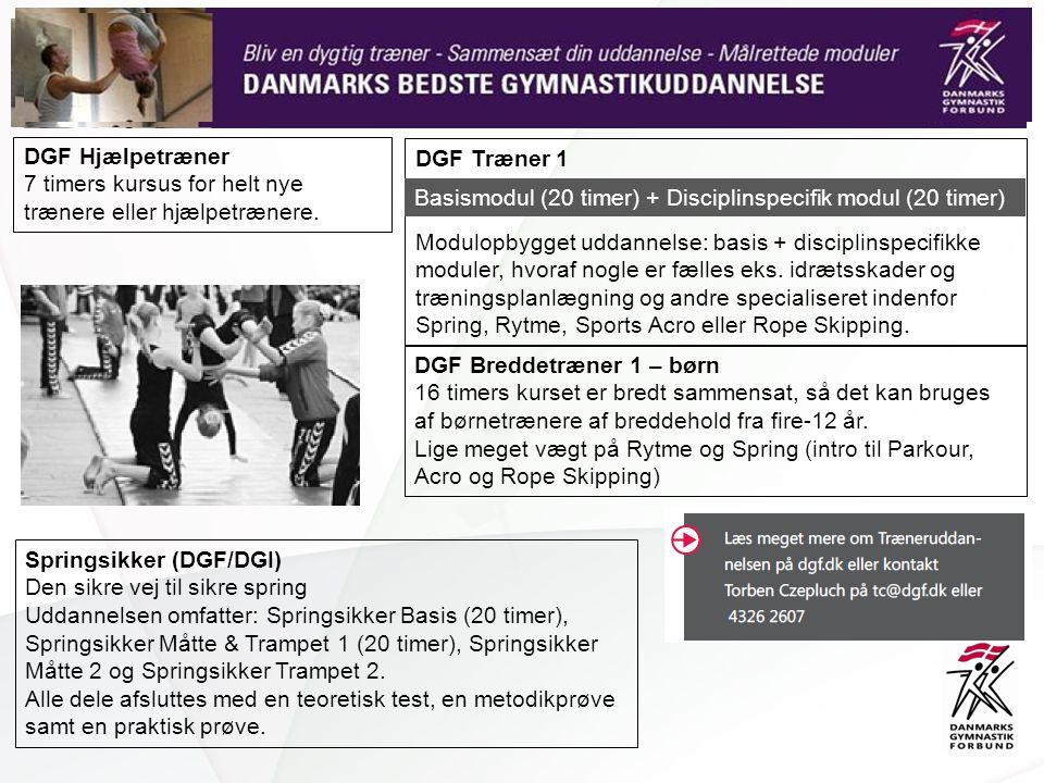 DGF Breddetræner 1 – børn 16 timers kurset er bredt sammensat, så det kan bruges af børnetrænere af breddehold fra fire-12 år.