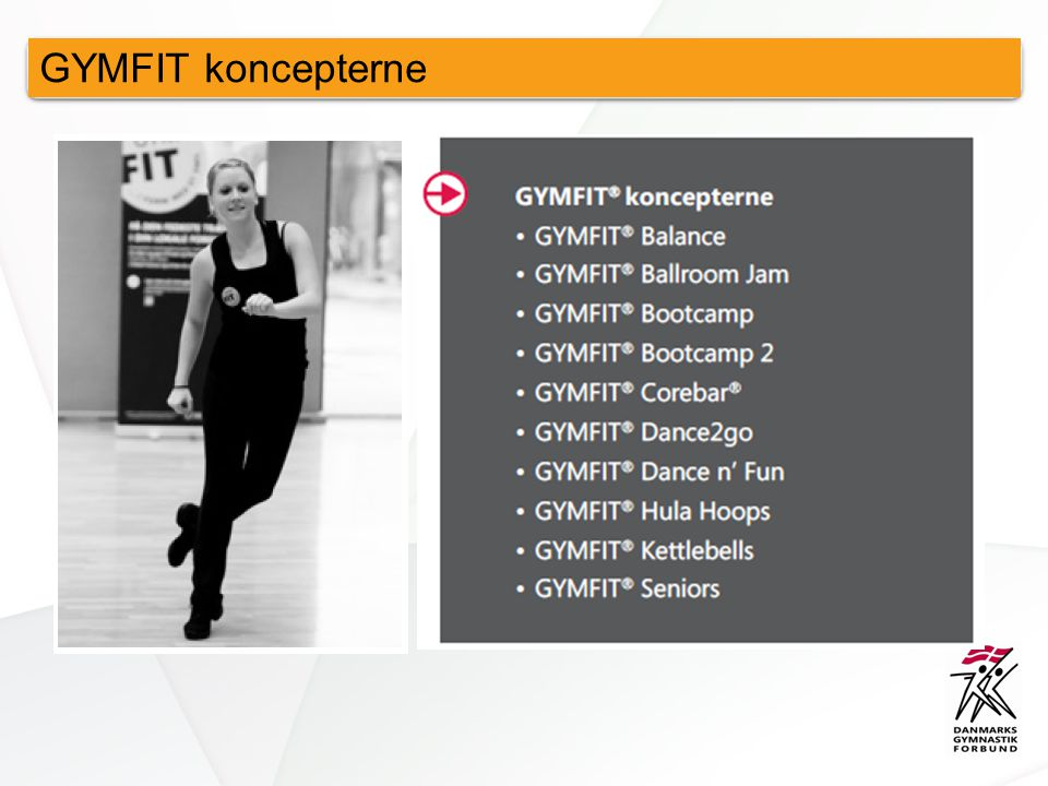 GYMFIT koncepterne