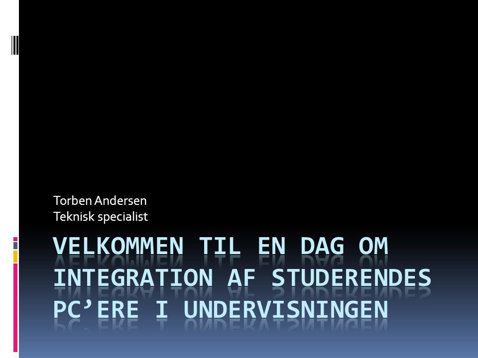 Torben Andersen Teknisk specialist