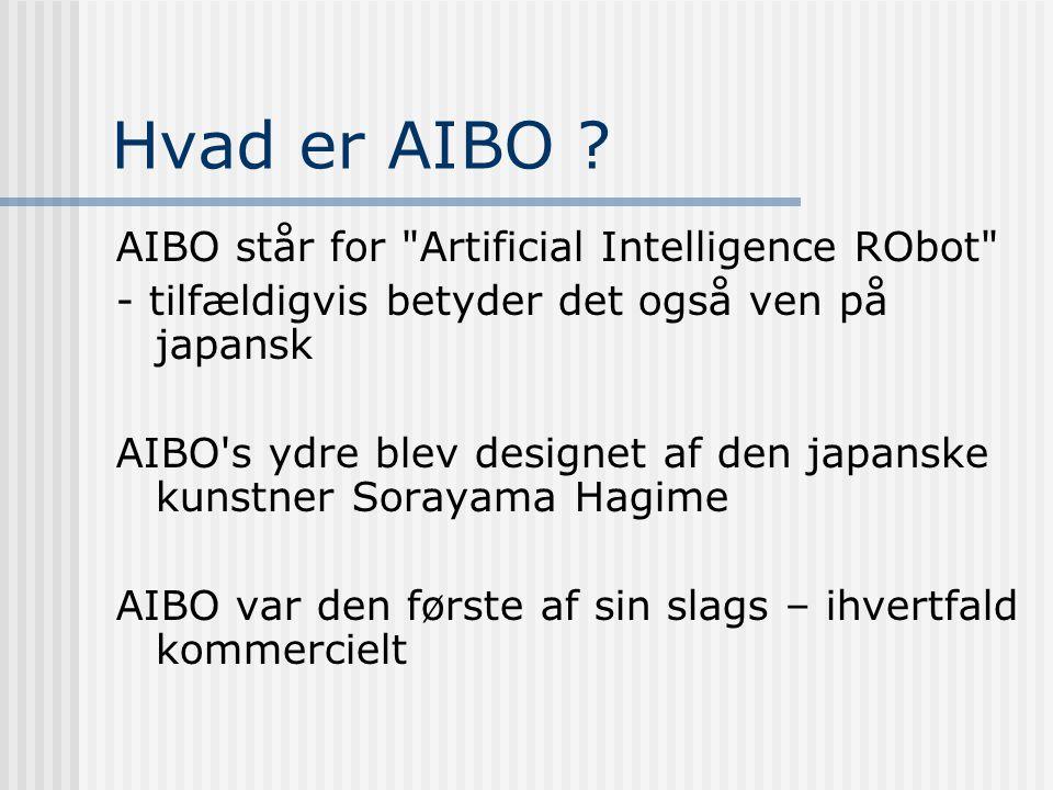 Hvad er AIBO .