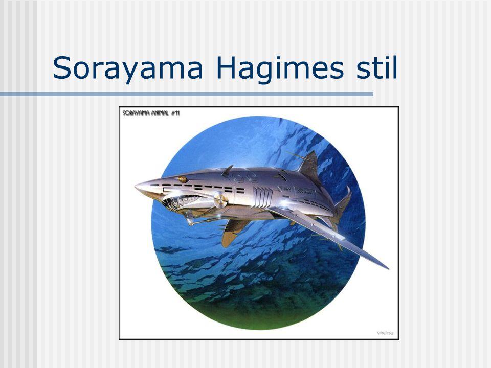 Sorayama Hagimes stil