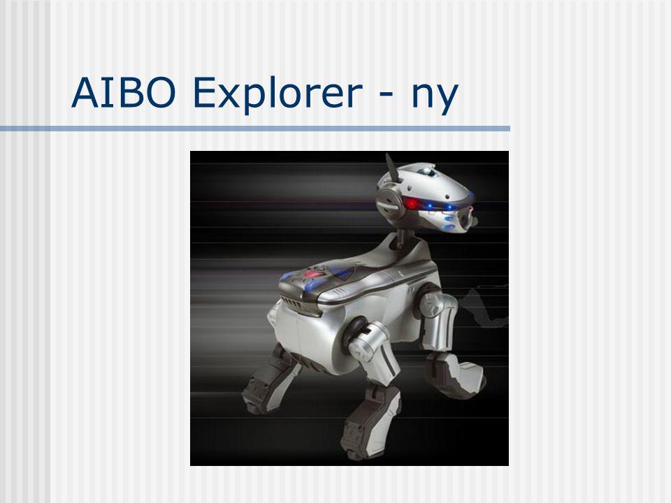 AIBO Explorer - ny