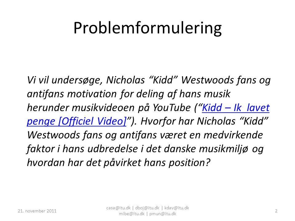 Case Study: Youtube Fankultur BIMK Gruppe 9 21.
