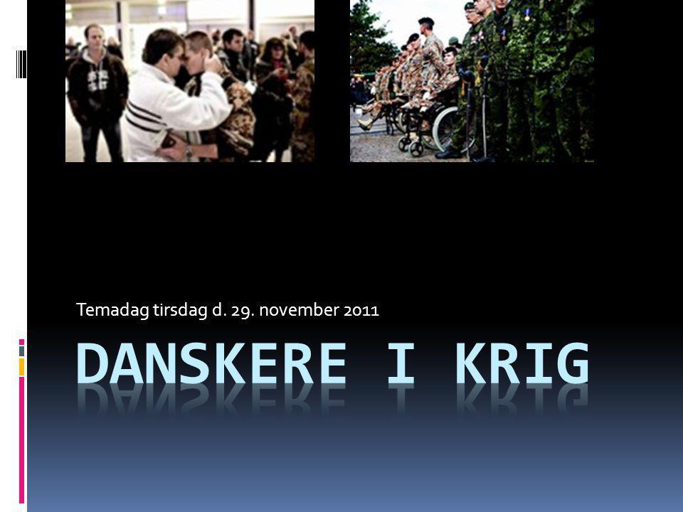 Temadag tirsdag d. 29. november 2011