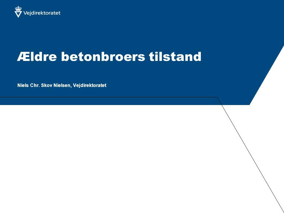 Ældre betonbroers tilstand Niels Chr. Skov Nielsen, Vejdirektoratet