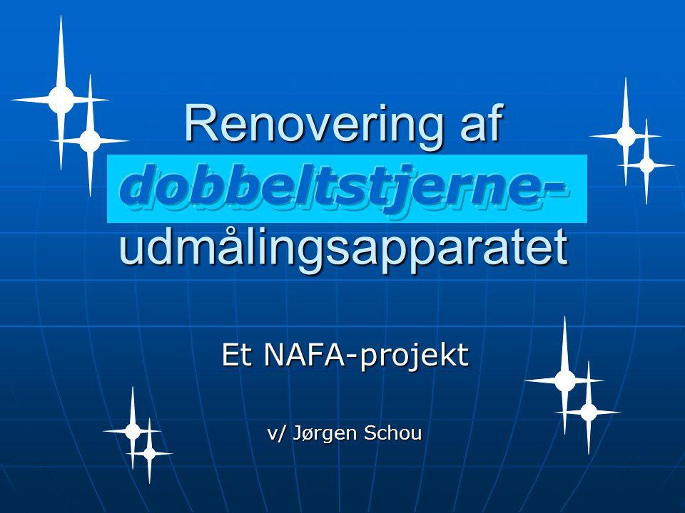 Et NAFA-projekt v/ Jørgen Schou