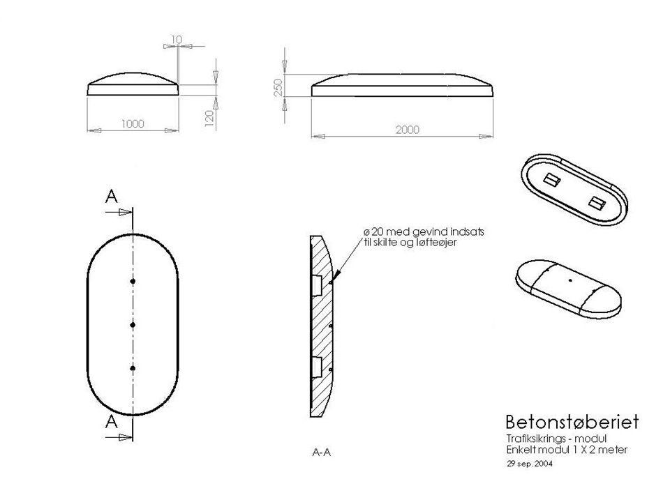 Degner´s Design & Development 2004 KREATIVE BETON LØSNINGER Langaa BETONSTØBERIET 3 Langaa Moduler Hertil kommer styremoduler og dorne Enklere kan det ikke være….