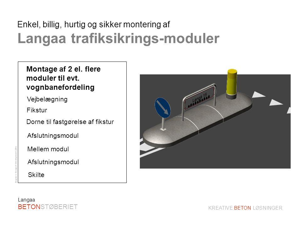 Degner´s Design & Development 2004 KREATIVE BETON LØSNINGER Langaa BETONSTØBERIET Montage af 2 m.