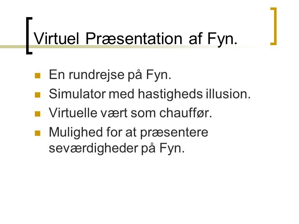 Virtuel Præsentation af Fyn.  En rundrejse på Fyn.