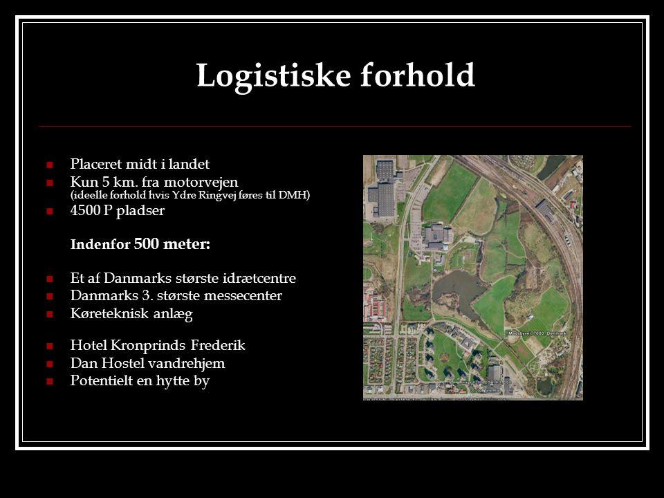 Logistiske forhold  Placeret midt i landet  Kun 5 km.