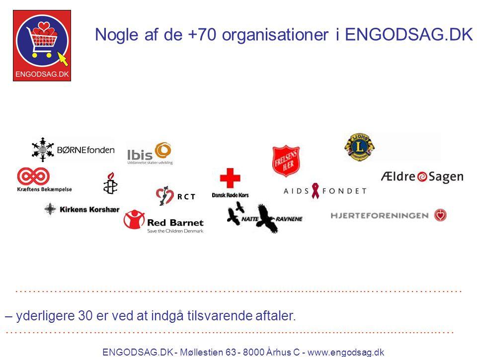 ENGODSAG.DK - Møllestien 63 - 8000 Århus C - www.engodsag.dk Nogle af de +70 organisationer i ENGODSAG.DK ……..…....……….…………………………...............................……………….… – yderligere 30 er ved at indgå tilsvarende aftaler.