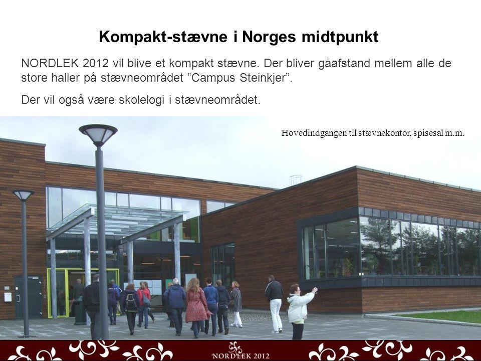 Kompakt-stævne i Norges midtpunkt NORDLEK 2012 vil blive et kompakt stævne.