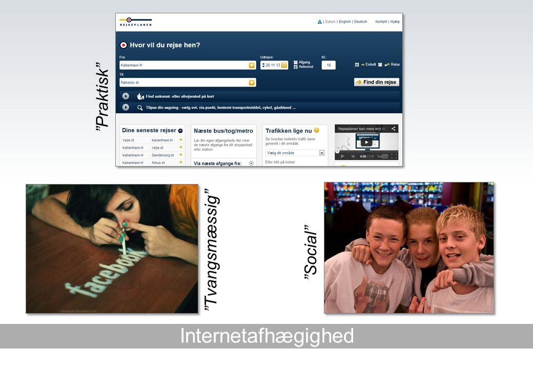 Internetafhægighed Tvangsmæssig Praktisk Social