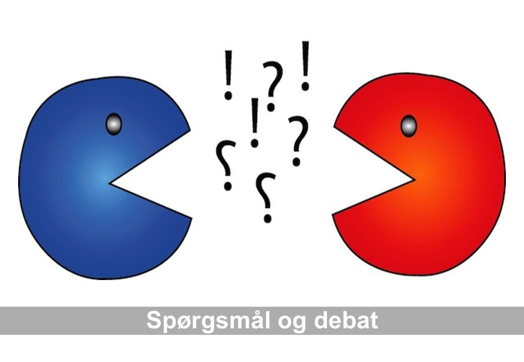 Spørgsmål og debat