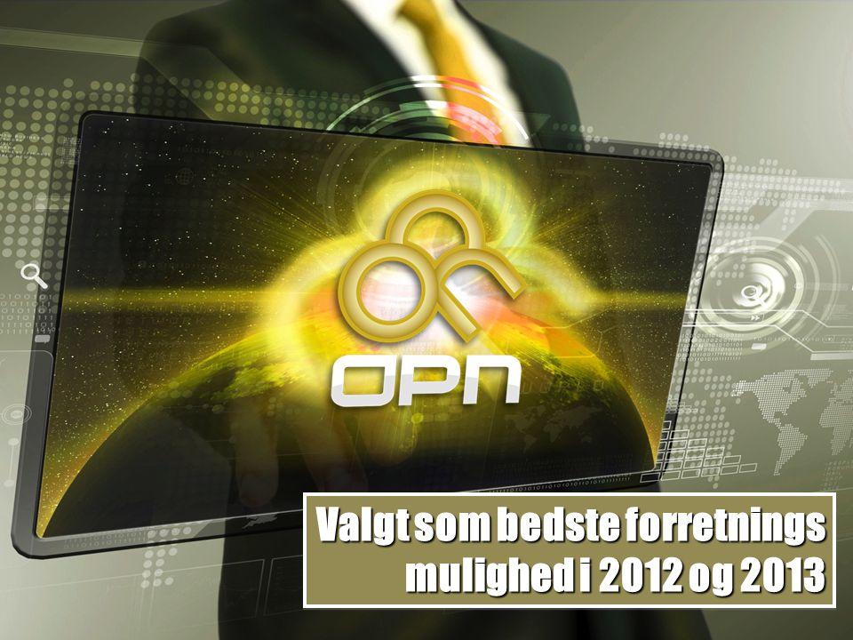 Valgt som bedste forretnings mulighed i 2012 og 2013 Valgt som bedste forretnings mulighed i 2012 og 2013