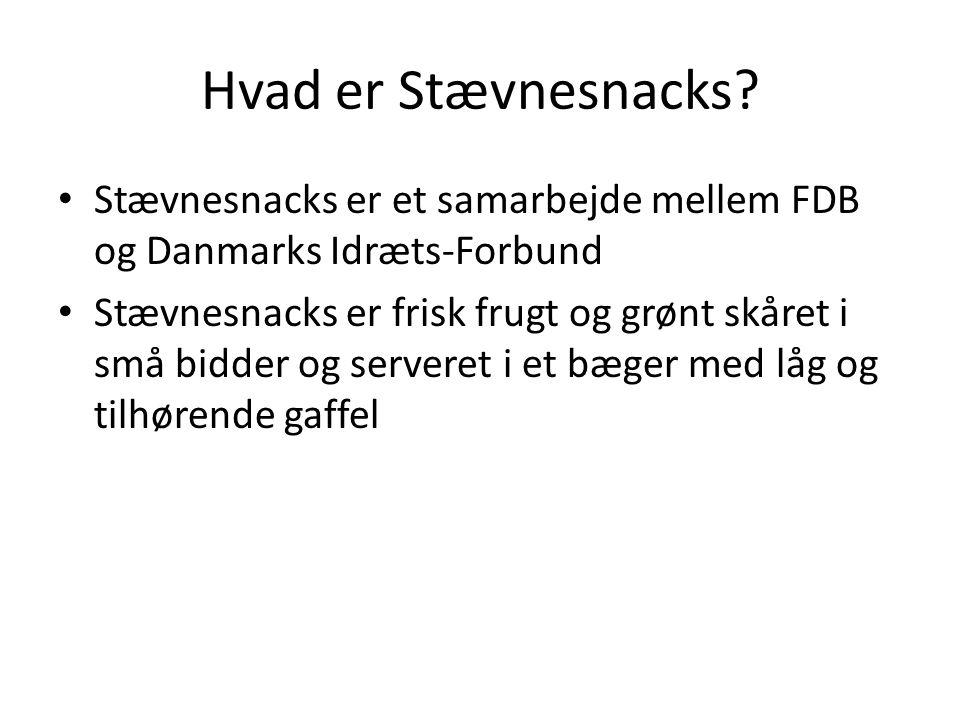 Hvad er Stævnesnacks.