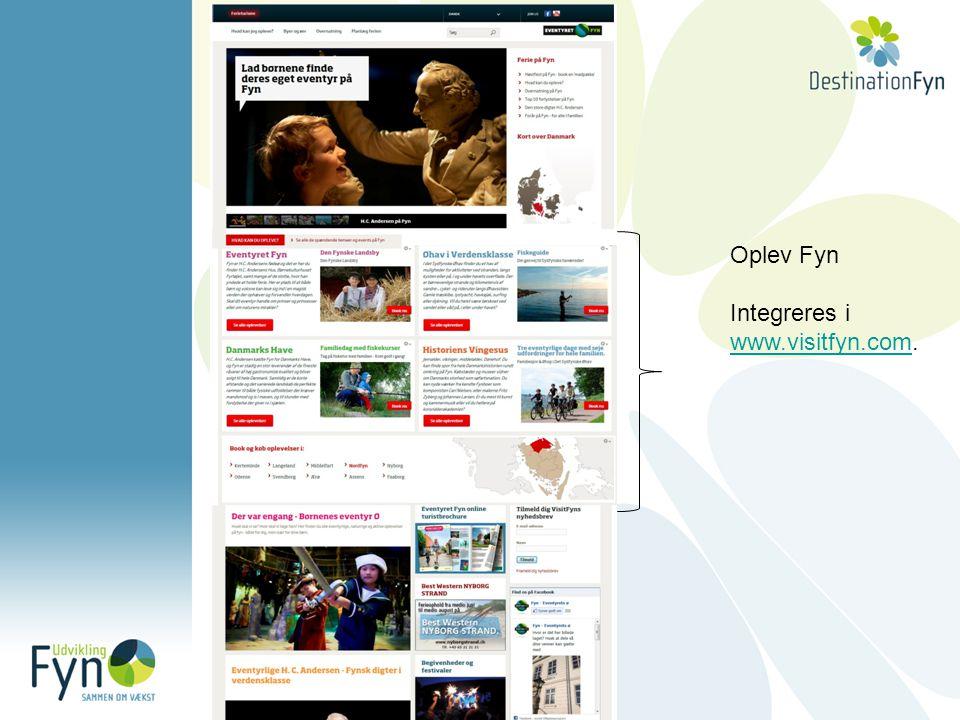 Oplev Fyn Integreres i www.visitfyn.comwww.visitfyn.com.