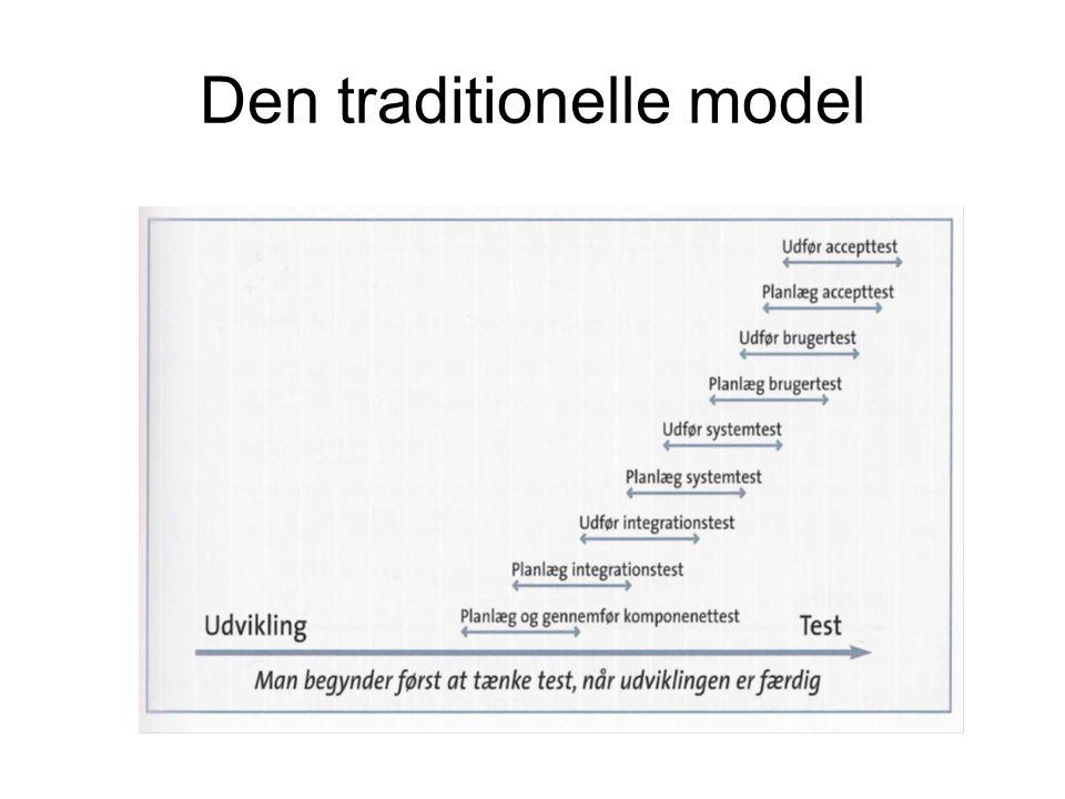 Den traditionelle model