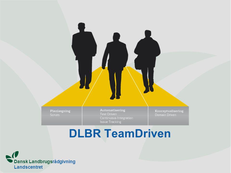 Dansk Landbrugsrådgivning Landscentret DLBR TeamDriven