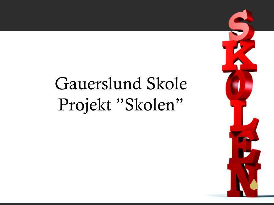  Gauerslund Skole Projekt Skolen