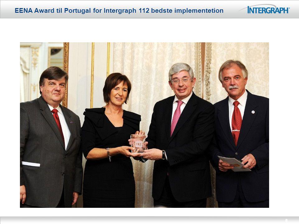 EENA Award til Portugal for Intergraph 112 bedste implementetion 8