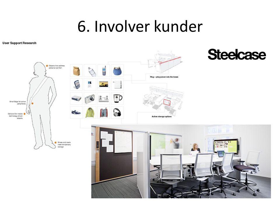 6. Involver kunder