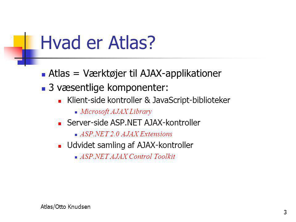 Atlas/Otto Knudsen 3 Hvad er Atlas.