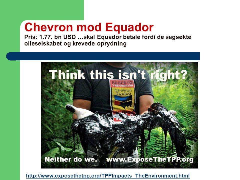 Chevron mod Equador Pris: 1.77.