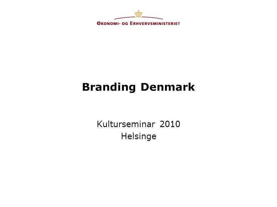 Branding Denmark Kulturseminar 2010 Helsinge