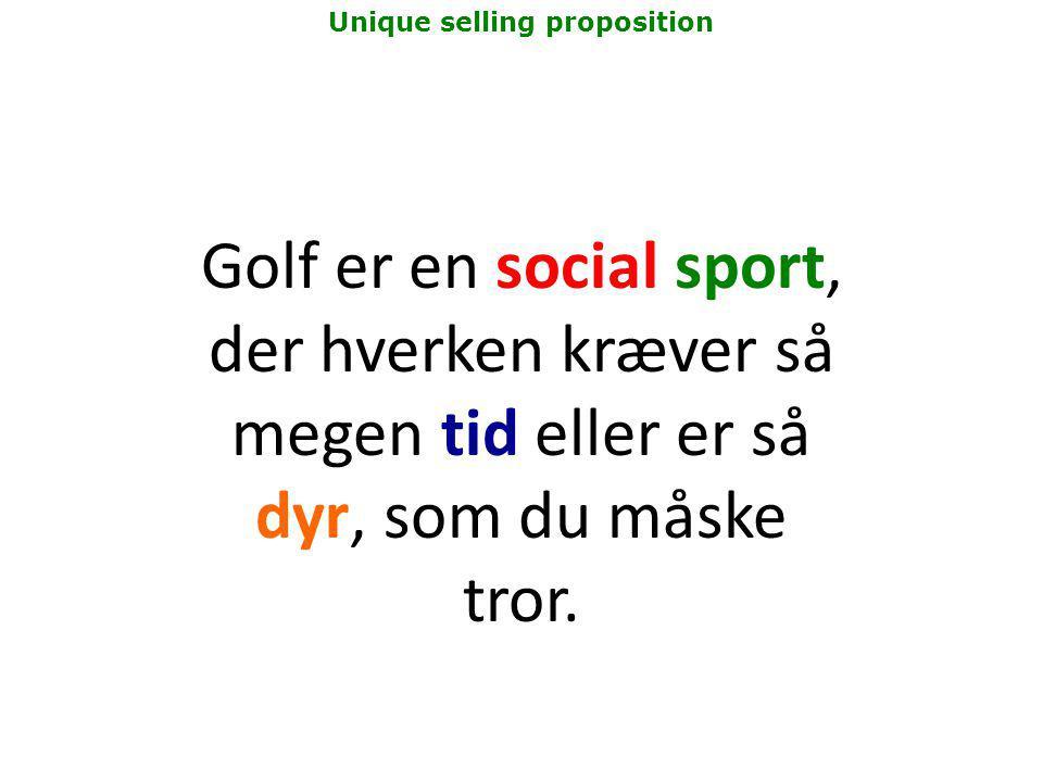 Golf er en social sport, der hverken kræver så megen tid eller er så dyr, som du måske tror.