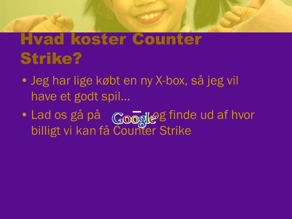 Hvad koster Counter Strike.