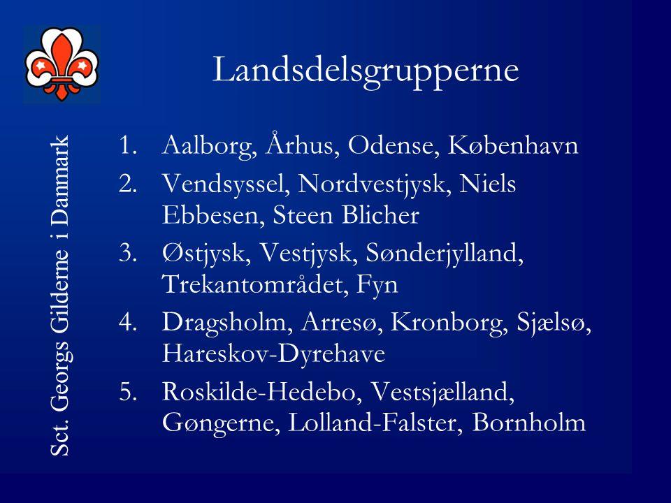 Sct. Georgs Gilderne i Danmark Hvad nu Drøftes i »landsdelsgrupper« 1.Er det en god idé.